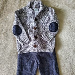 Gymboree baby boys sweater and dress pants